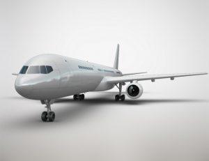 Biel to przeważający kolor  wśród samolotów, dlaczego?