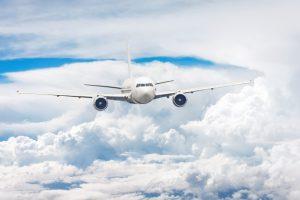 Temperatura za oknem samolotu?